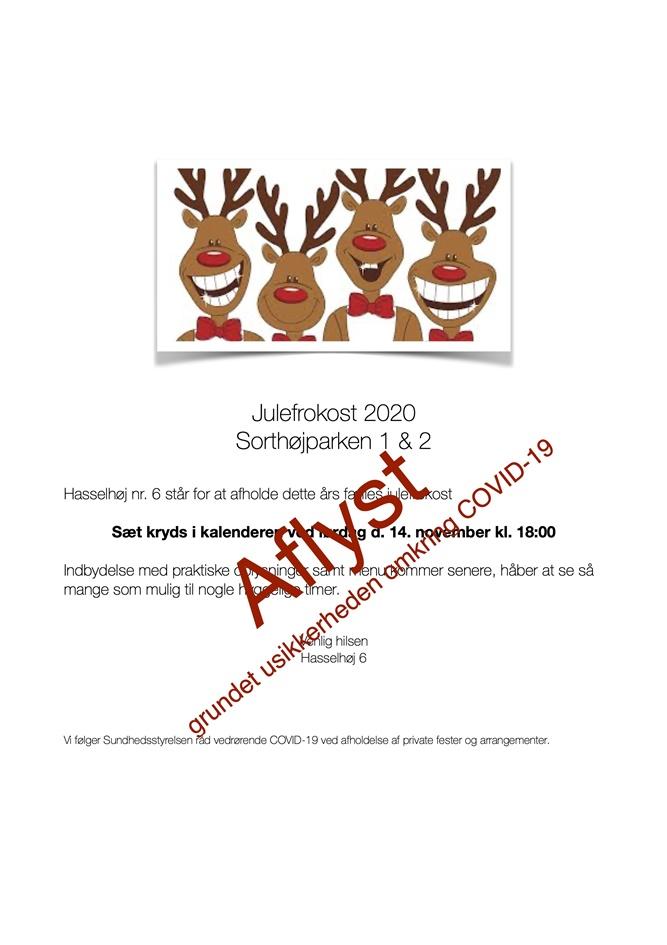 Tekst invitation til julefrokost Fødselsdagsinvitation